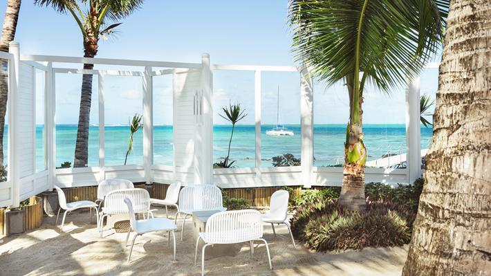 Bar, Tropical Attitude Hotel, Mauritius