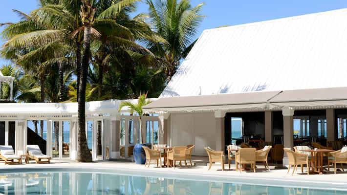 Swimming pool, Tropical Attitude Hotel, Mauritius